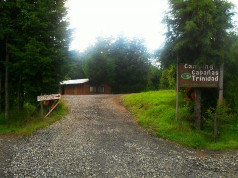 camping trinidad, lican ray