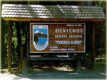 camping Reserva federico albert