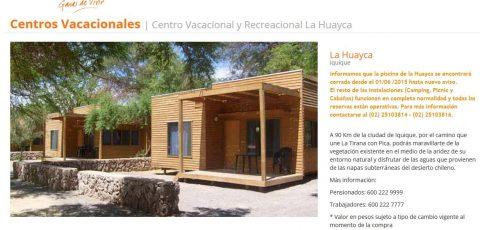 Centro Vacacional y Recreacional La Huayca