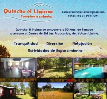 Camping Quincho El Llaima