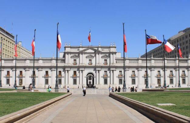 Palacio de la Moneda - Lugar Turístico de Chile